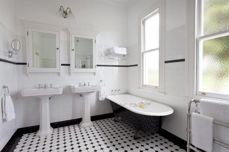 detaljerna som g r ett svart vitt art d co badrum badezimmer pinterest bad badezimmer und. Black Bedroom Furniture Sets. Home Design Ideas