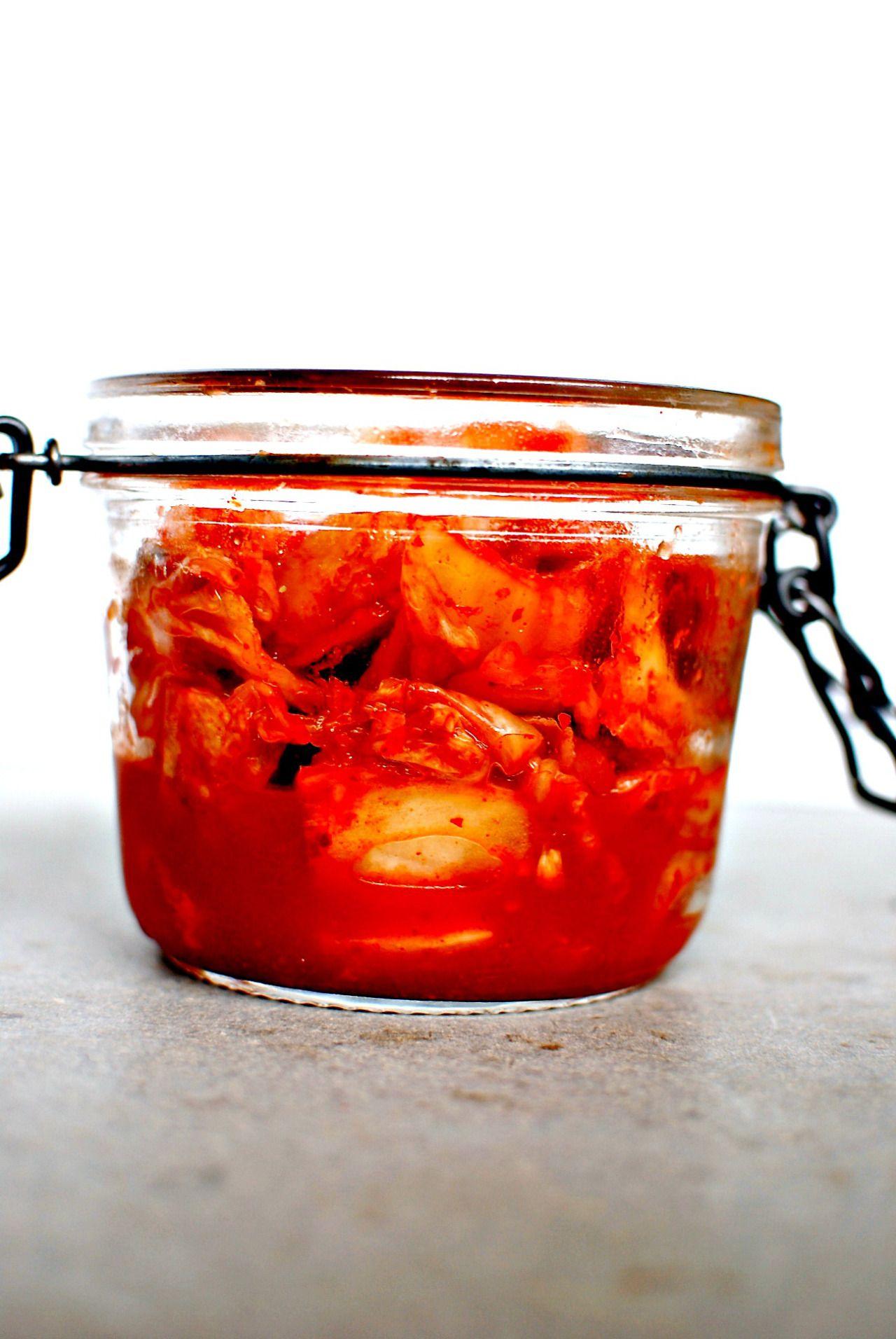 Sichuan Pepper Cabbage Kimchi + Sweet Miso Pumpkin Kimchi