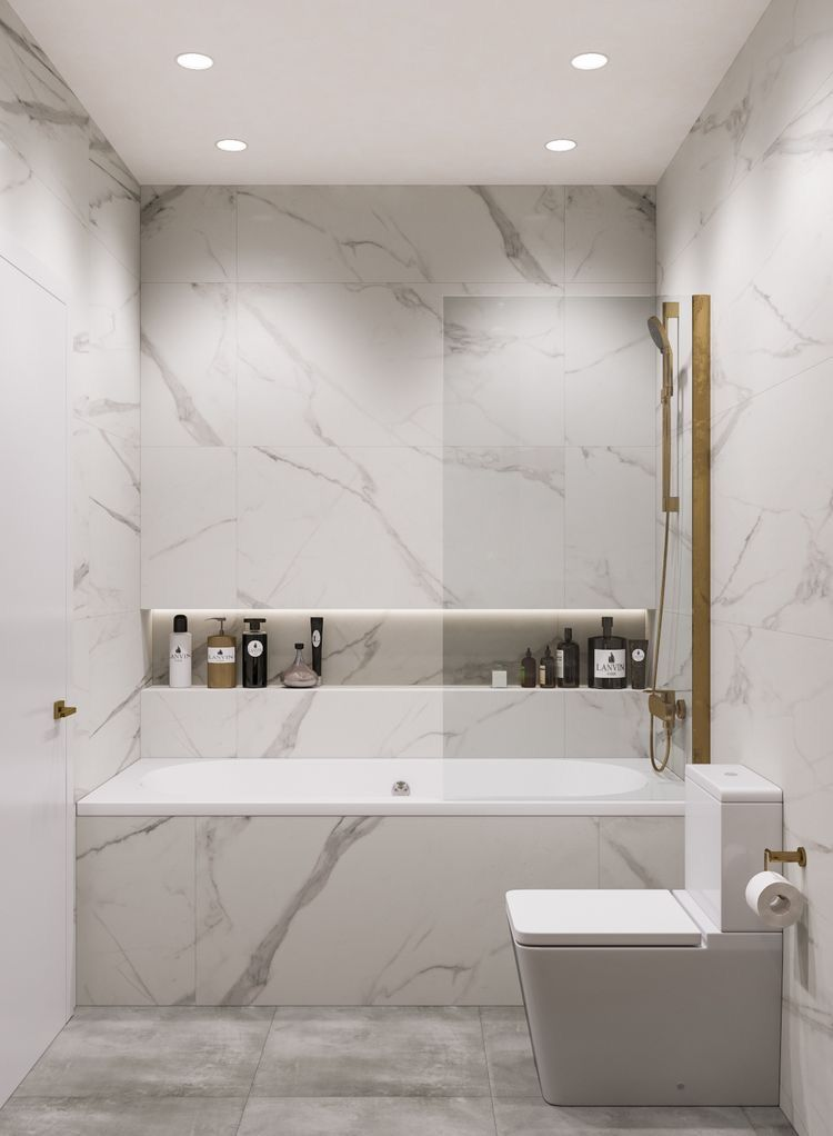 Photo of Shower Bath – Marble