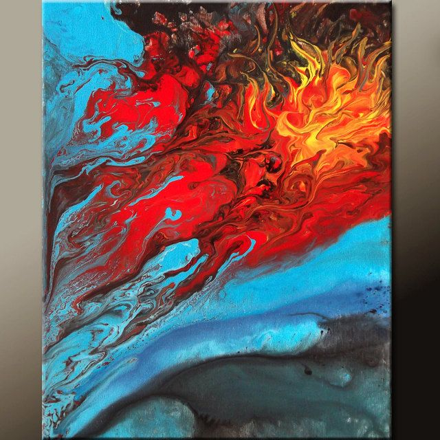 Abstract Canvas Art Painting Contemporary Original Paintings By