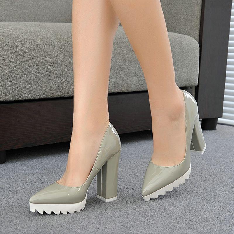 2016-zapatos-de-tacón-alto-mujer-nueva-Sexy-mujer-tacones-señaló ... 7b4ea490d41e