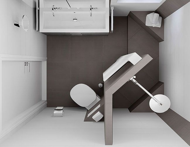 kleine badkamer ideeen - Google zoeken | Bathrooms | Pinterest ...