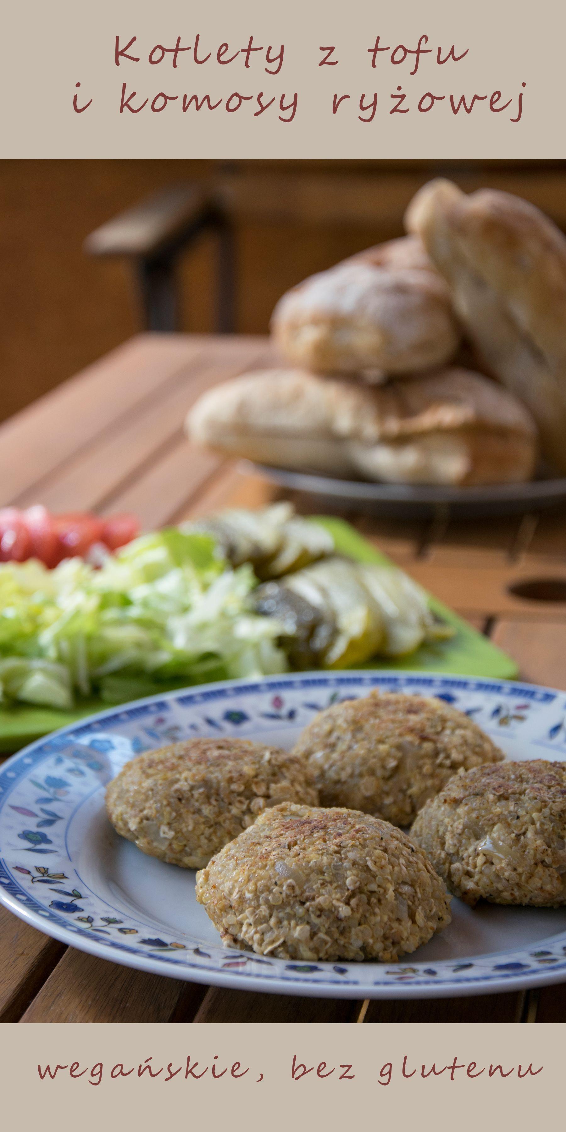 Kotlety Z Tofu I Komosy Ryzowej Przepisy Tofu Food I Bread
