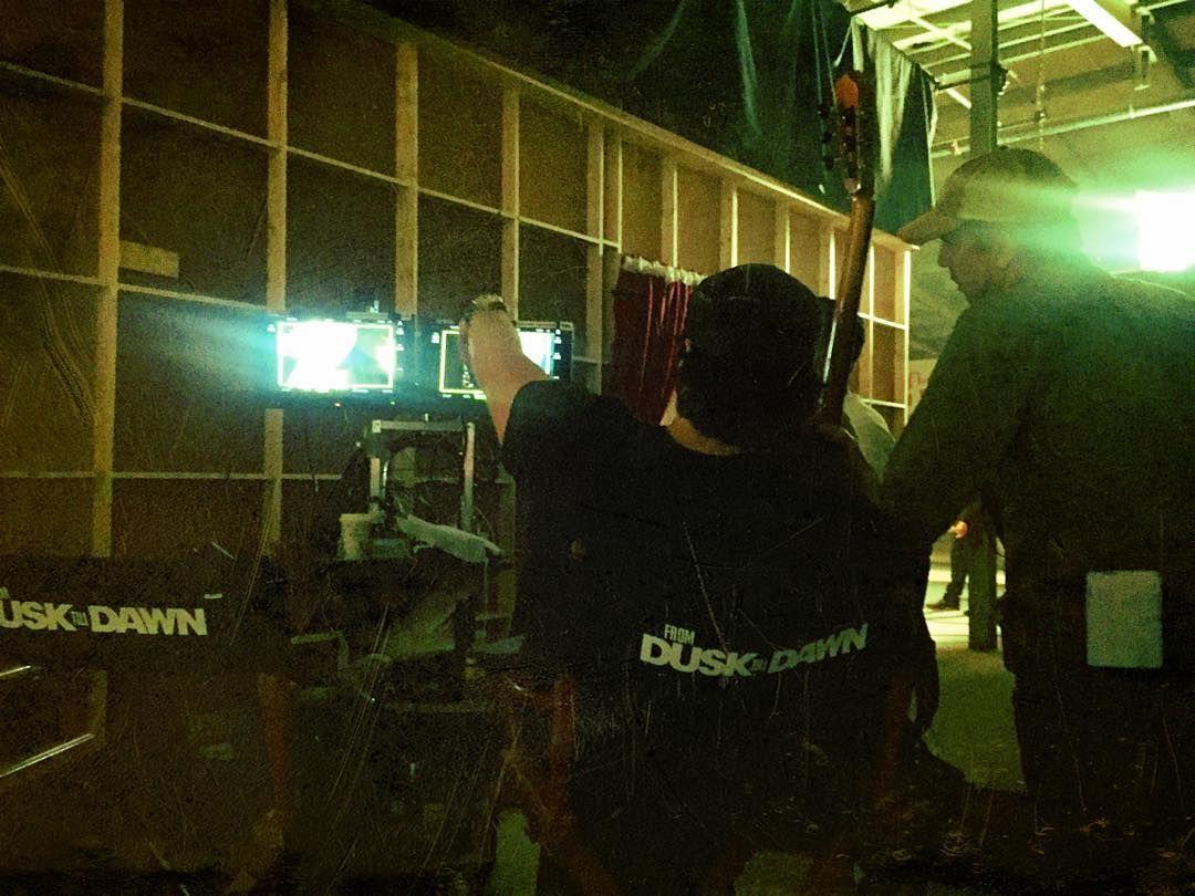 DUSK Season 3 | In Production | photo by DJ Cotrona via instagram.com
