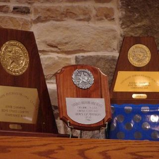Our incredible first place awards our boys ran their hearts out for! District, regional and state