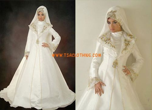 Islamitische trouwjurk