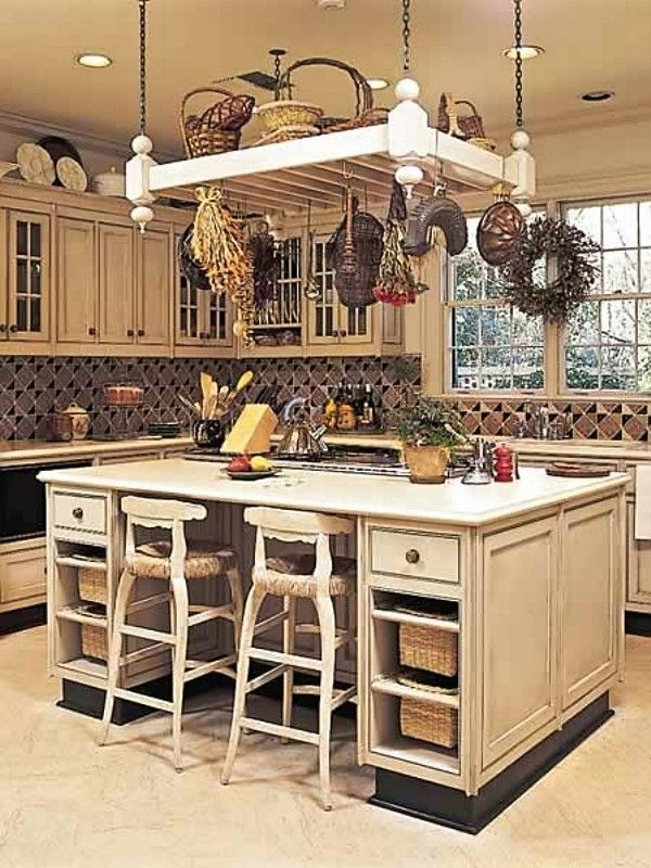 kitchen island pot rack lighting - foter | for the home in 2018