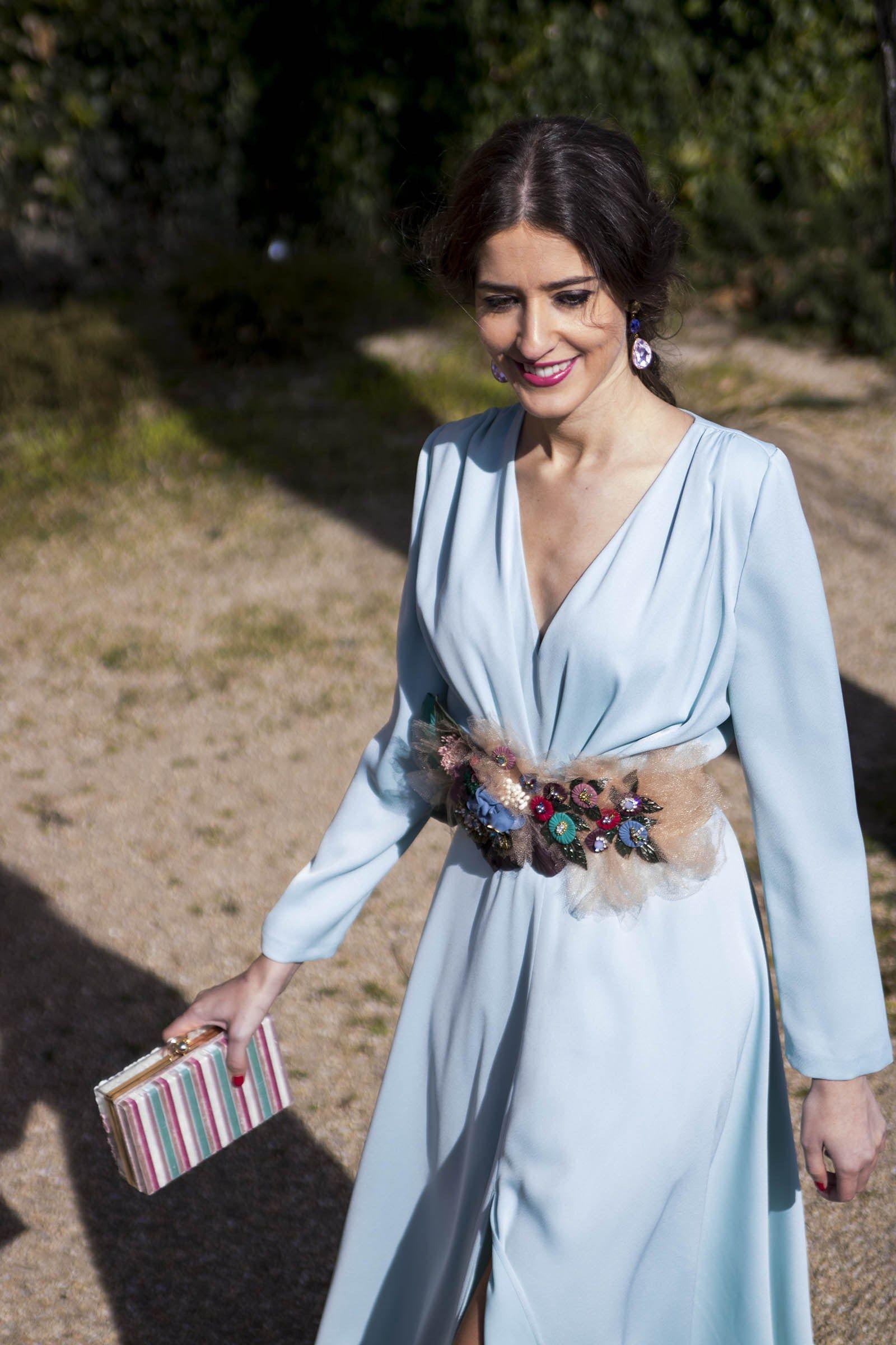 553cff4d6 Inviitada boda noche azul Matilde Cano | VESTIDOS | Vestido boda ...