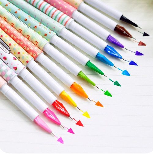 4 Pieces Gel Pen Set 15 Cm Length Key Pattern Plastic Stylish Pen Writing Drawing School Supplies Office Stationary Best Gift for Kids