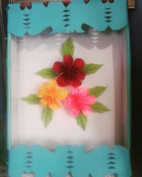 Diy paper flower wall hanging simple and beautiful decoration by kovaicraft youtube pinterest also rh