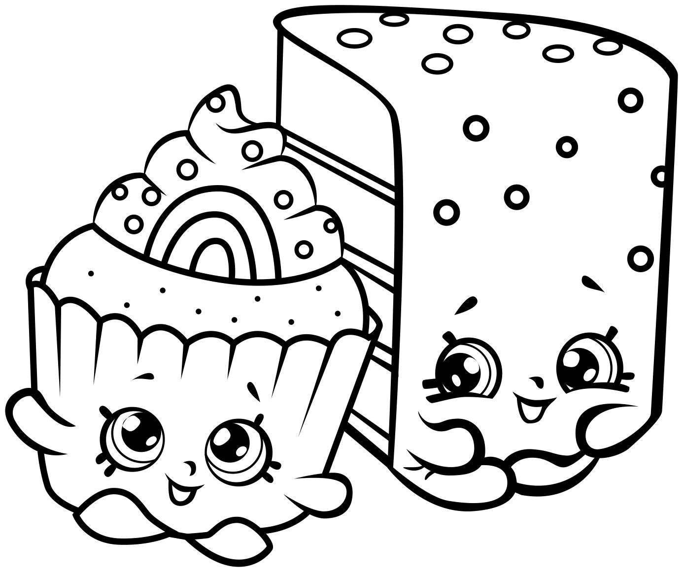 Coloring Printable Mped Coloring Page Printable 19845 Shopkins