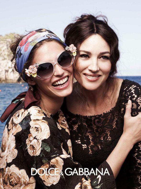 Cutest smiles ever for Dolce   Gabbana eyewear SS 2013.  6cde2d1e6d5