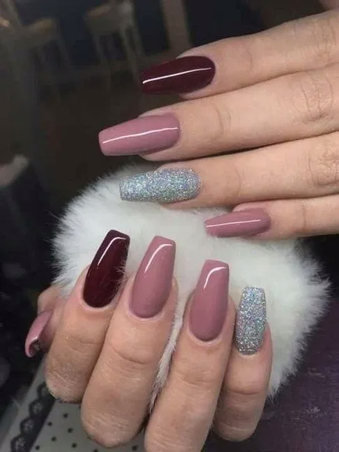 Coffin Nails 40 Of The Best Coffin Nails For 2020 Page 2 Homedable Com In 2020 Pink Nails Coffin Nails Designs Gorgeous Nails