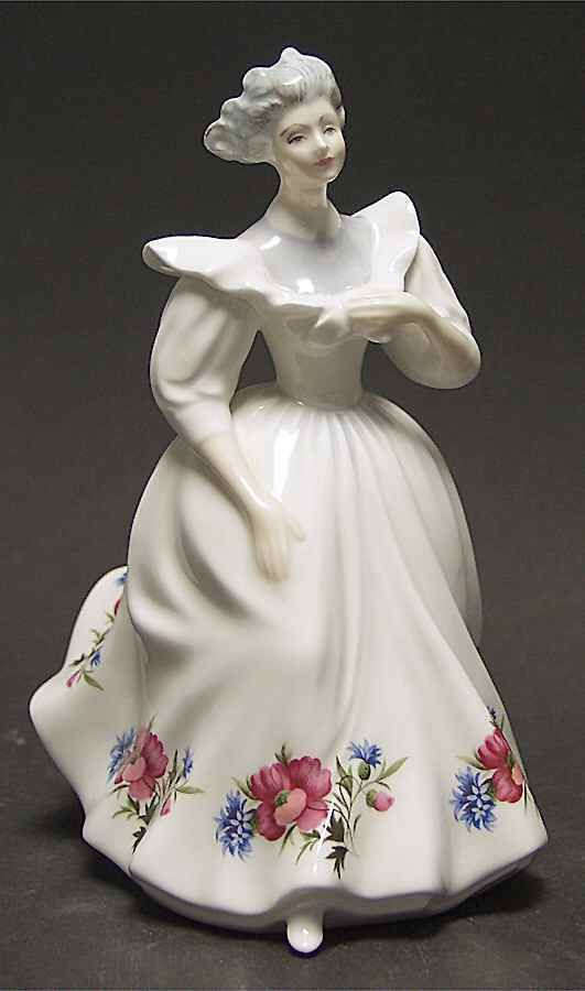 Royal Doulton FLOWER OF THE MONTH FIGURINE August (HN3165).
