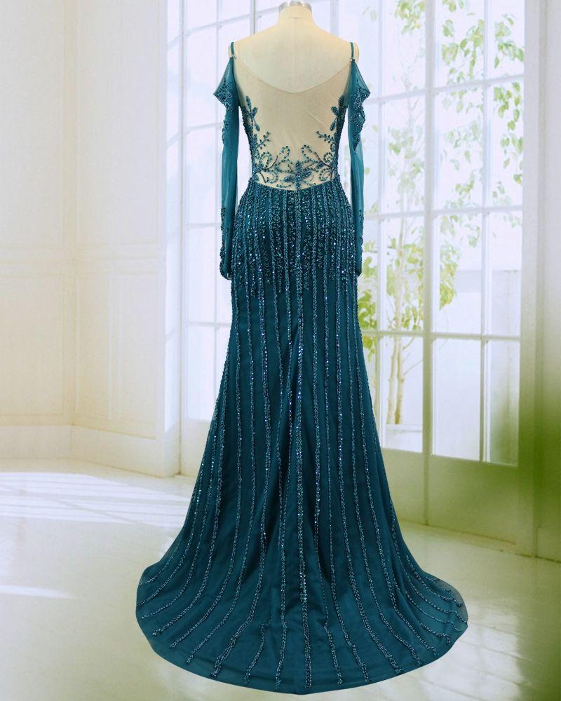 Newland zhimei stunning new style prom dresses full hand work