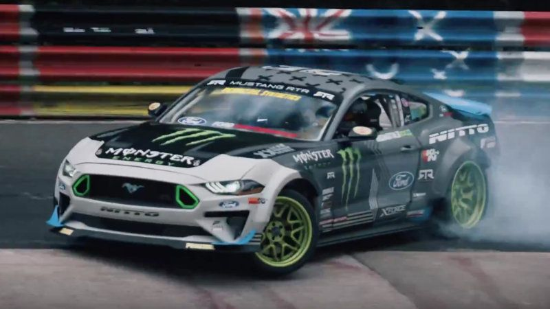 Watch A 900 Hp Ford Mustang Around Drift The Nurburgring Ford