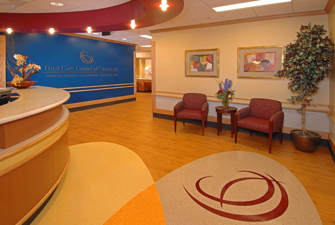 Interior Bright And Colorful Doctor s Office Interior Designs