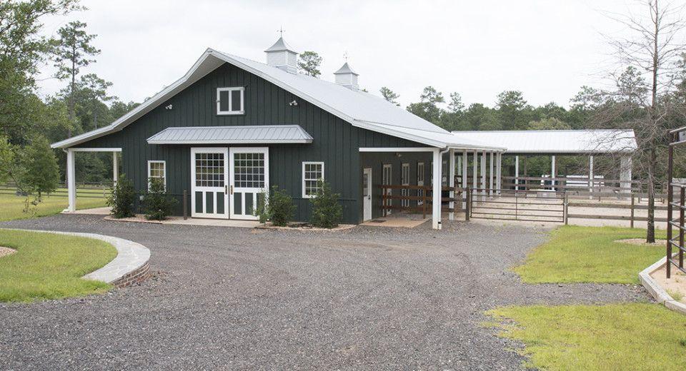 Morton Buildings Horse Barn in Thomasville, Georgia ...