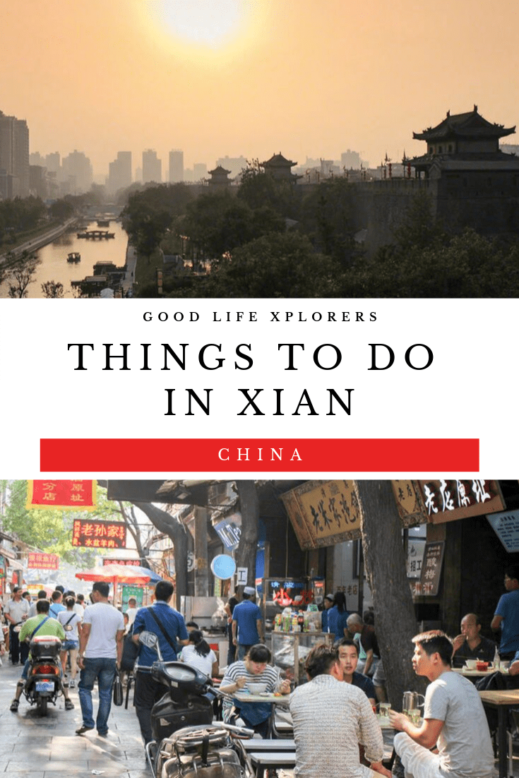 If you are visiting the city of Xian in China, here are 5 things you must do.  #photography #travel #food #silkroad #thingstodo #architecture #city #chinese #china #noodles #terracota #army #muslim #quarter #mosque #belltower #itinerary #attractions #solotravel #female #tips #ancient #citywall