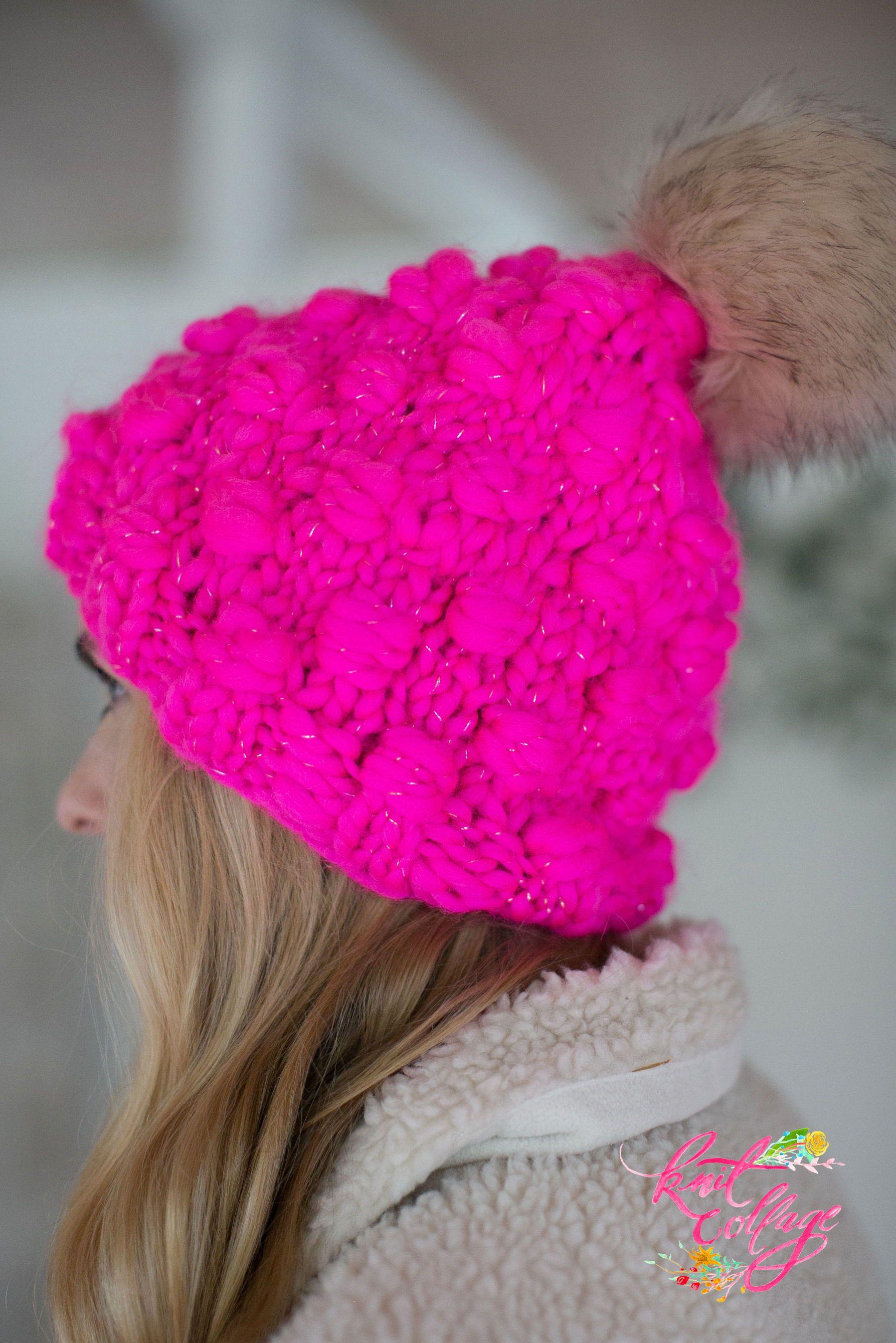 Snowfall Bobble Hat Pattern | Hat Patterns | Crochet ...