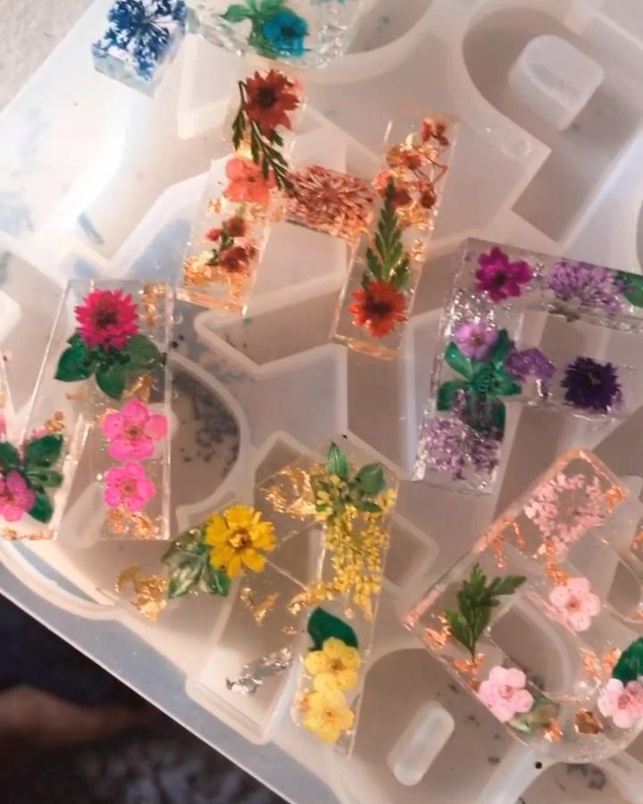 Photo of Flower Keychains 🌷