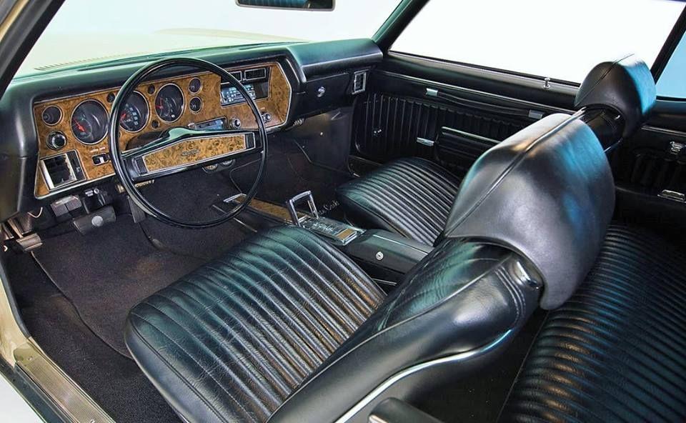 1972 Chevrolet Monte Carlo Interior Chevrolet Monte Carlo Chevy