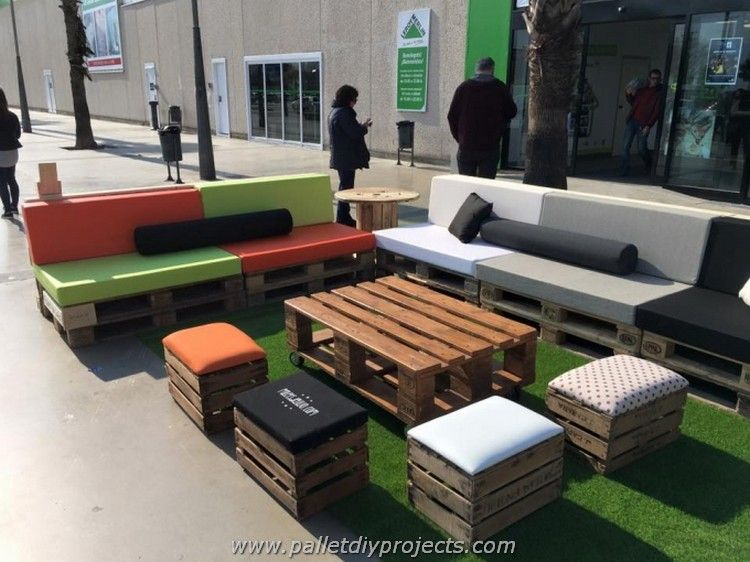 recycled pallets outdoor furniture. Beautiful Outdoor Recycled Pallet Furniture In Recycled Pallets Outdoor Furniture E