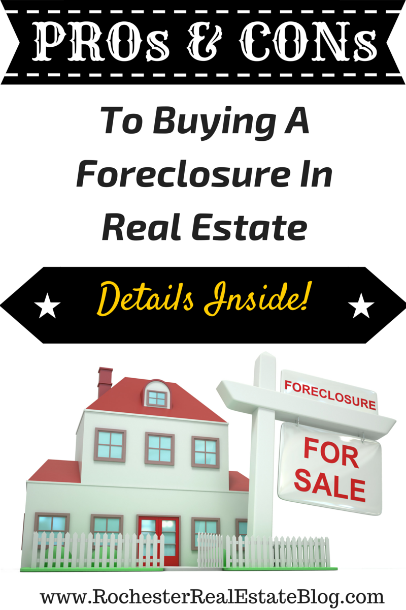 Buying A Foreclosure In Real Estate Can Be A Great Thing For Some Buyers A