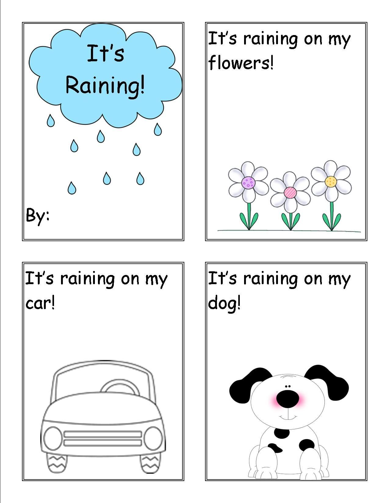 Really Great Free Rain Activities For Pre K