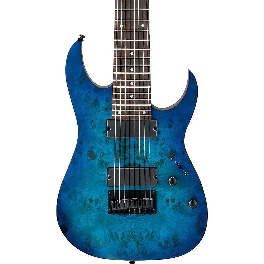 Ibanez Rg Series Rg8pb 8-string Electric Guitar Sapphire Blue Flat - http://www.8stringguitar.org/for-sale/ibanez-rg-series-rg8pb-8-string-electric-guitar-sapphire-blue-flat-5/19996/