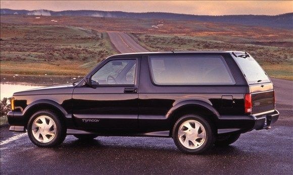 Most influential cars of the '90s - MSN Autos GMC Typhoon