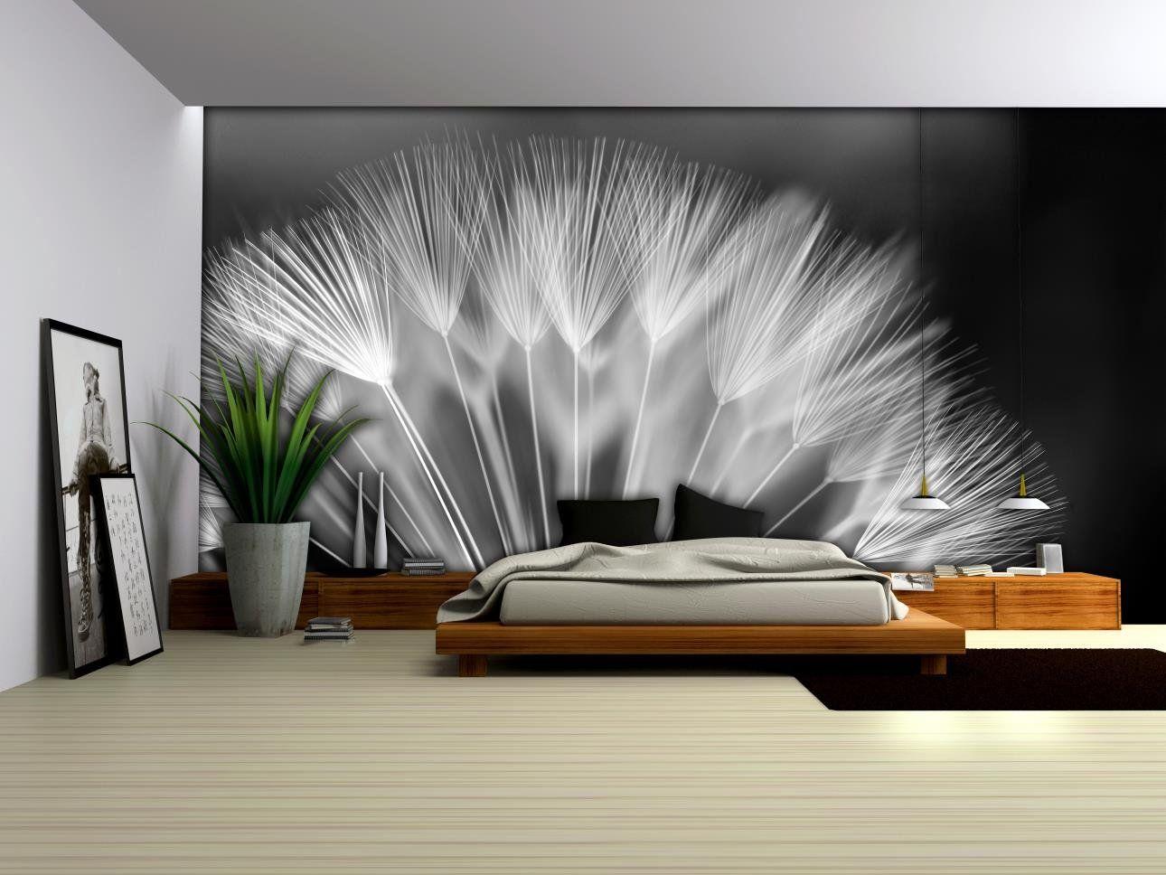 Wandtapete Schlafzimmer ~ Fototapete pusteblume poster wandbild bilder tapeten tapete foto