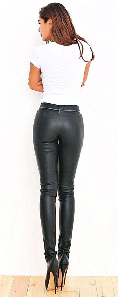 ass Hot leather