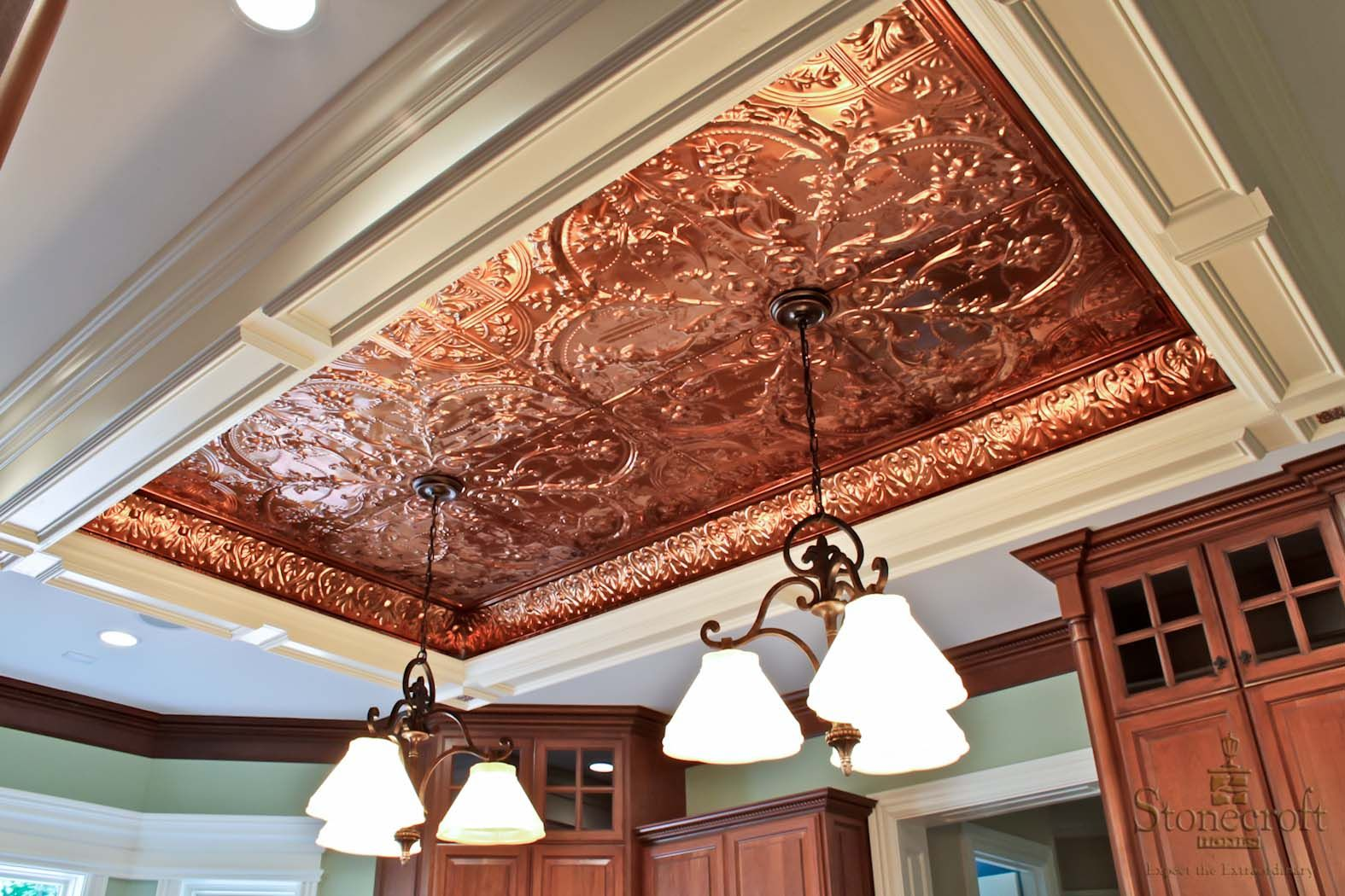 Kitchen Kitchen Ceiling Tin Ceiling Copper Ceilings