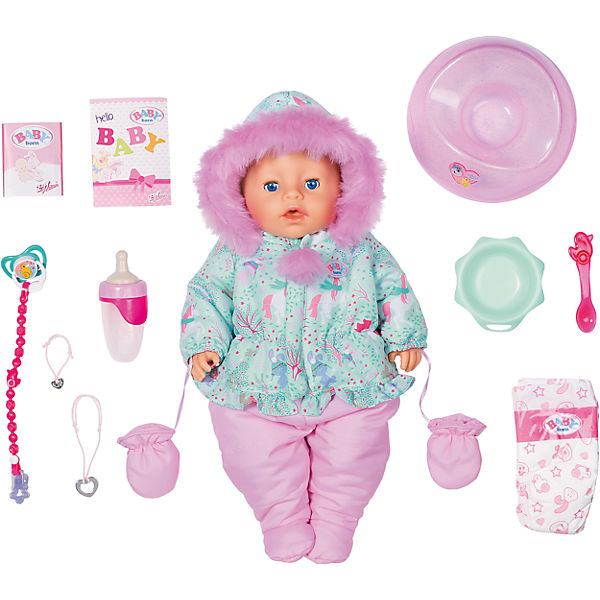 Exklusiv BABY born Soft Touch Winter Edition 43cm, BABY born