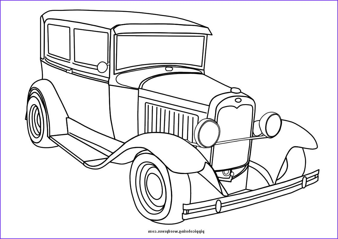 12 Best Of Old Car Coloring Pages Image Truck Coloring Pages Coloring Pages For Boys Cars Coloring Pages