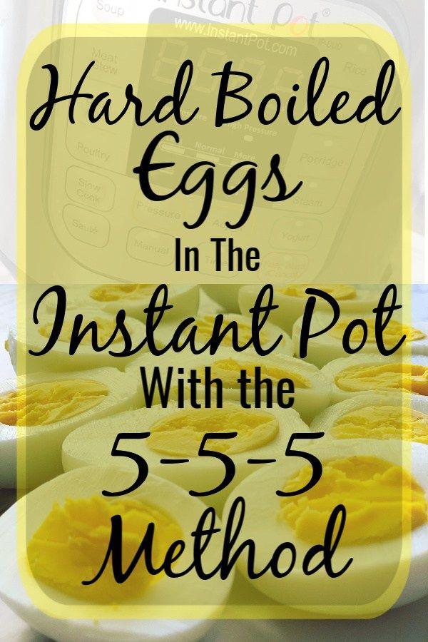 The 5-5-5 Method for Hard Boiled Eggs in the Instant Pot - Manda J