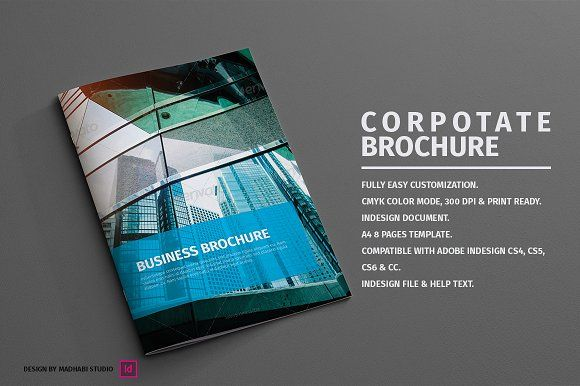Corporate Brochure  Pages By Madhabi Studio On Creativemarket
