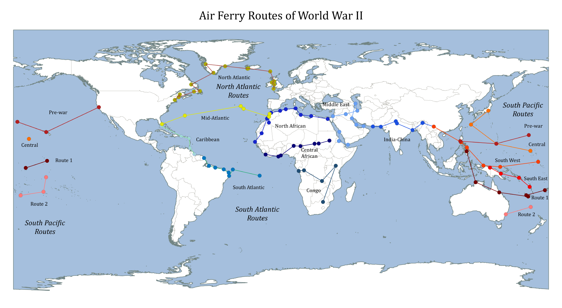 Airferryroutesofwwii north atlantic air ferry route in world war airferryroutesofwwii north atlantic air ferry route in world war ii wikipedia gumiabroncs Image collections