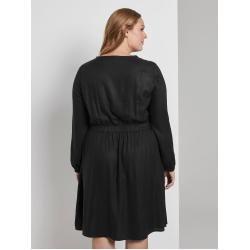 Vestido de mujer Tom Tailor My True Me con cintura elástica, negro, talla 44Tom-Tailor.de