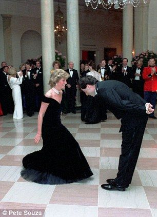 princess diana dances with john travolta at the white house in 1985 via dailymail princess diana princess diana family lady diana spencer princess diana dances with john
