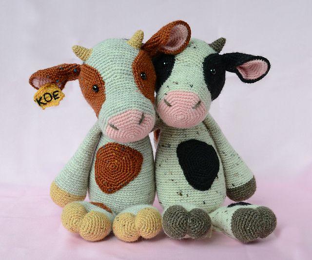Cuddle Me Cow amigurumi pattern - Amigurumi Today - Amigurumi ... | 533x640