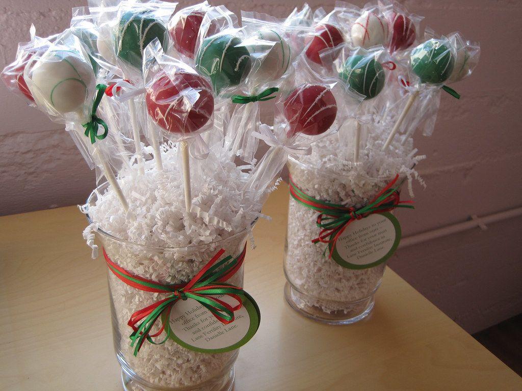 Christmas Cake Pops Bouquets #cakepopbouquet