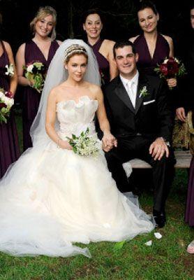 Alyssa Milano Wedding Holly Marie Combs