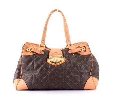 476a012c434f Louis Vuitton Monogram Canvas Etoile Quilted Shopper Tote Bag ...