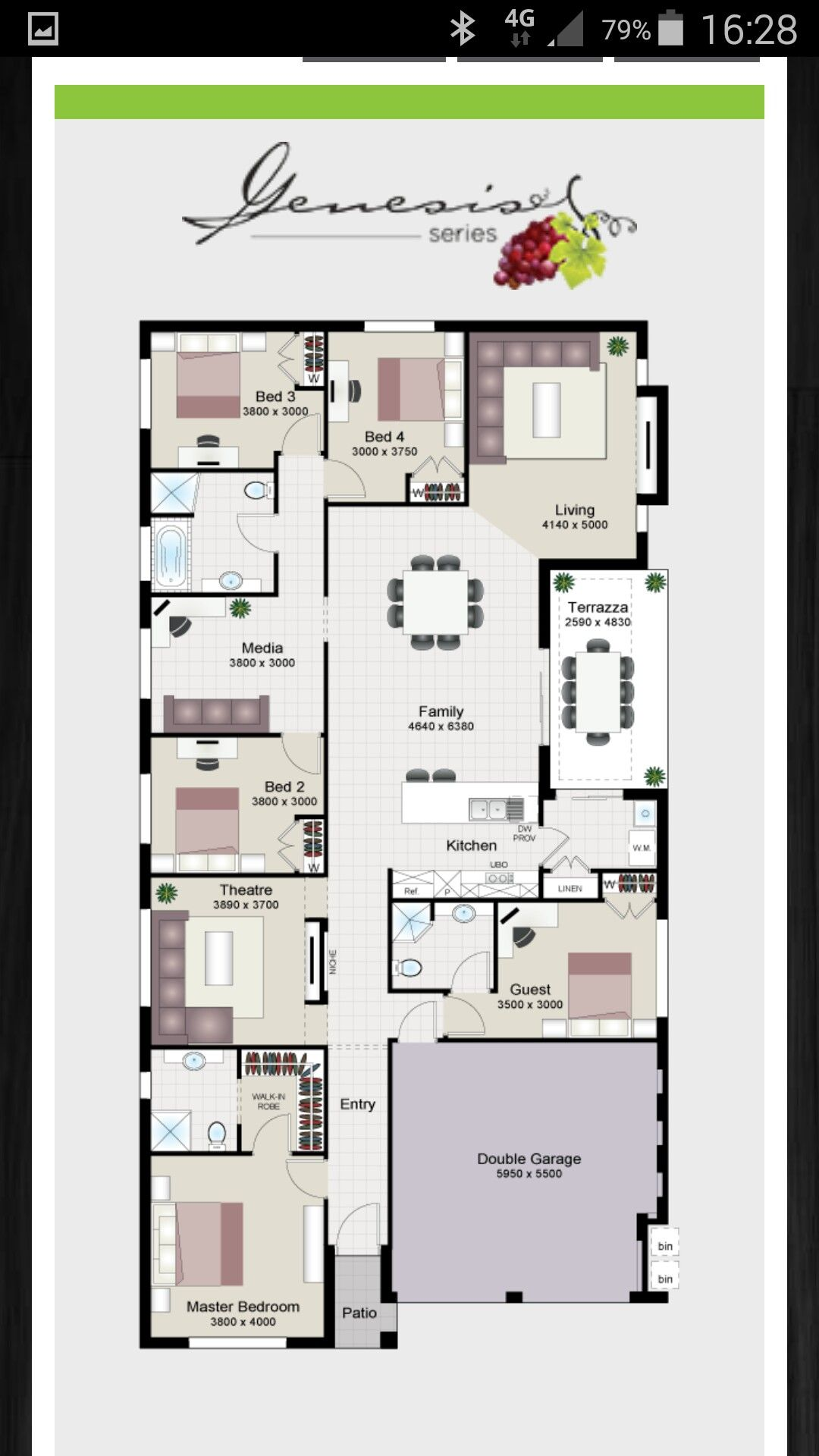 Beechwood One Storey House House Layout Plans Dream House Plans