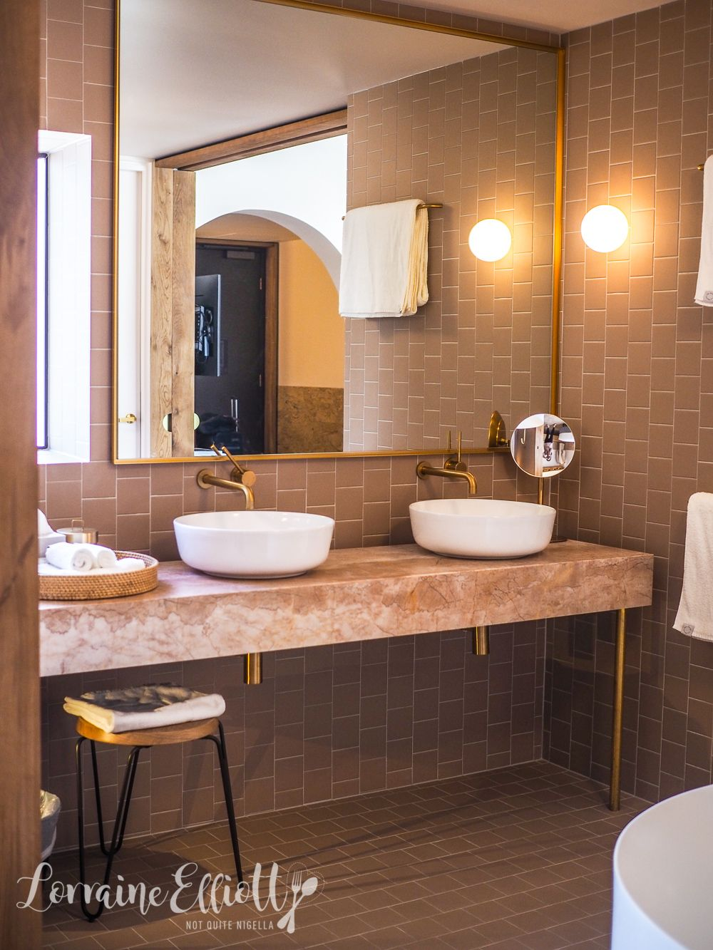 Palm Springs Meets Brisbane At The Calile Hotel | Bathroom ...