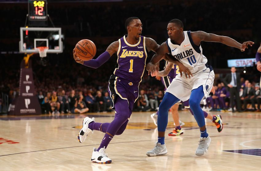 Los Angeles Lakers Kentavious Caldwell Pope Quietly Coming Around Nba Lakeshow Lakers Los Angeles Lakers Los Angeles