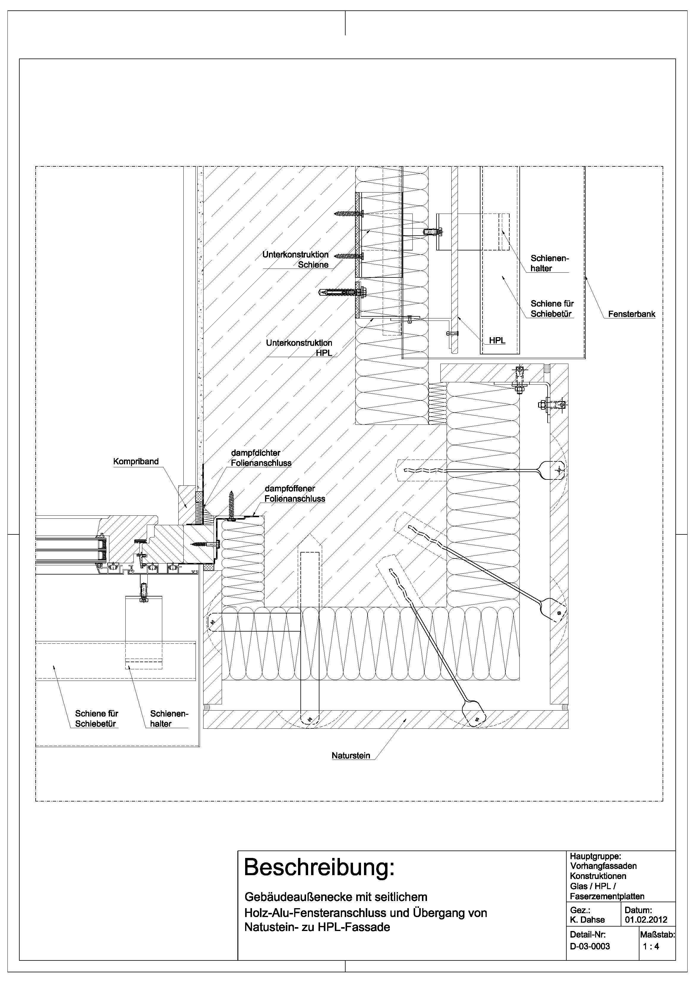 D 03 Gebaudeau Enecke Mit Seitlichem Holz Alu Fassade