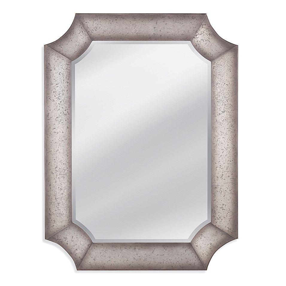 Bassett Mirror Company 36 Inch X 48 Inch Mckinnon Wall Mirror Bed Bath Beyond In 2021 Antique Mirror Wall Silver Wall Mirror Wall Mirror Kitchen 36 x 48 framed mirror